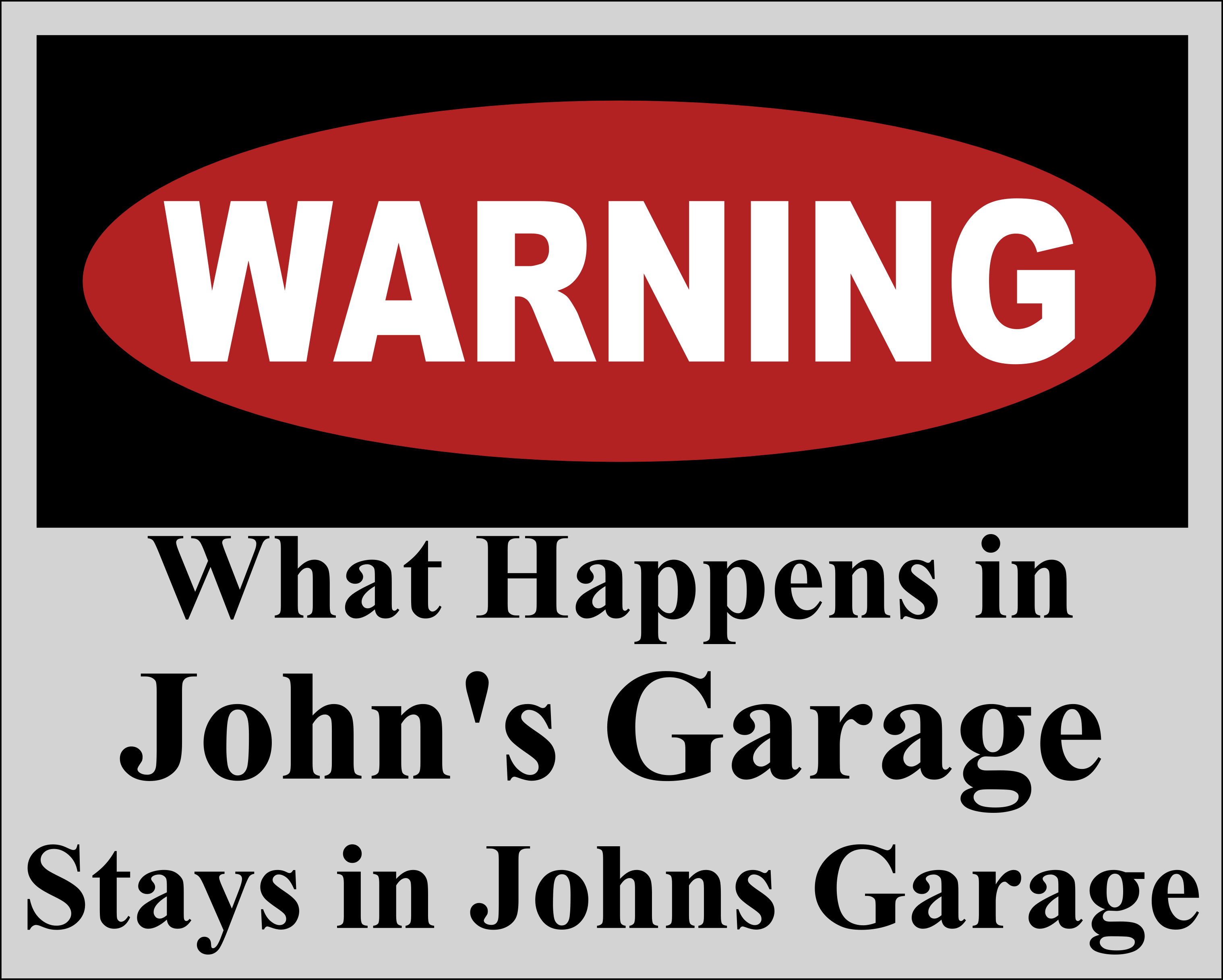 personalized dcor sign your c garage metal garden home glossy printed s w plaques custom signs name aluminum